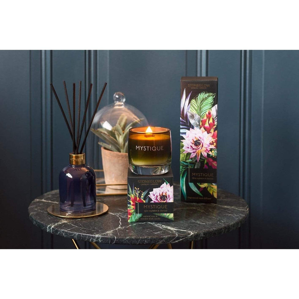 Mystique Diffuser Refill - Spice Explosion & Charcoal Reed (Black) - SAK Home
