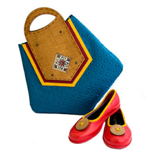 Load image into Gallery viewer, Designer Canvas Bag Online - Handmade Stylish Bags for Women
