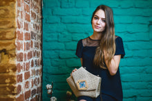 Load image into Gallery viewer, Triangle Canvas Handbags Online - Handmade Bags for Women