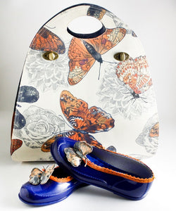 Handmade Leather Bags for Women - Designer Butterfly Bags