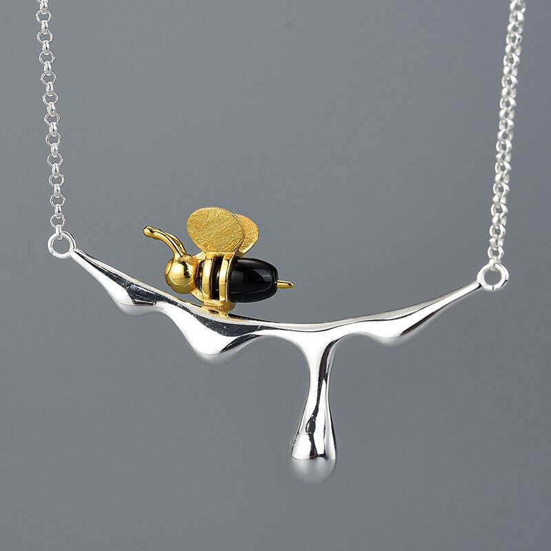 Sweet Honeybee Necklace