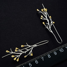 Load image into Gallery viewer, Handmade Tree branches Sterling Silver Earrings - Handmade Jewellery