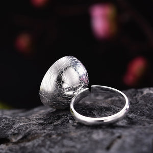 Handmade 'The Aroma of Wintersweet' Rings for Women - Sterling Silver 925