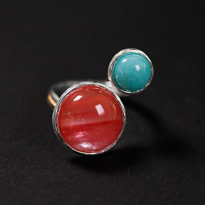 Handmade 'Candy House' Silver Rings - Sterling Silver 925