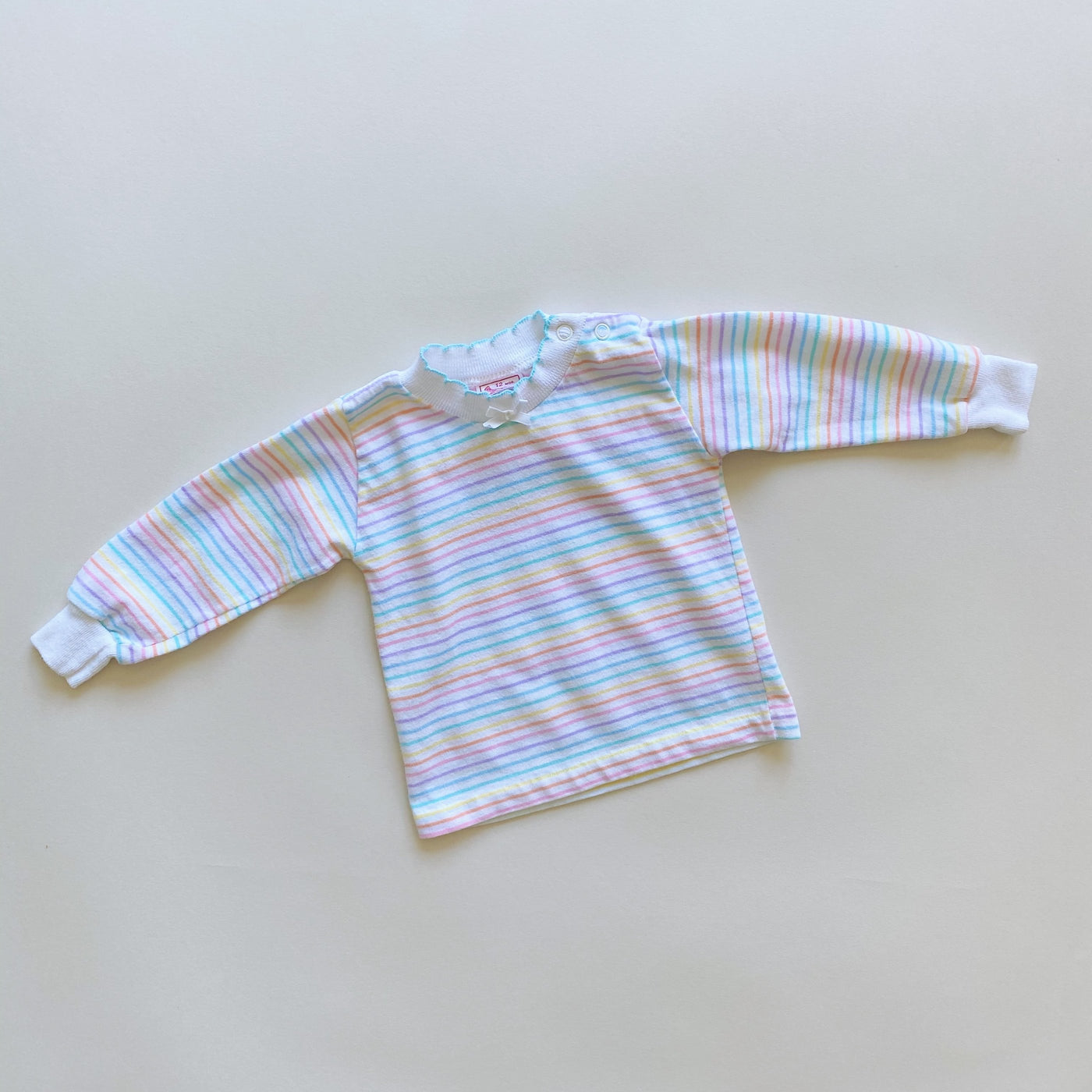 Vintage Striped Top Styled 2-Ways / Size 12M