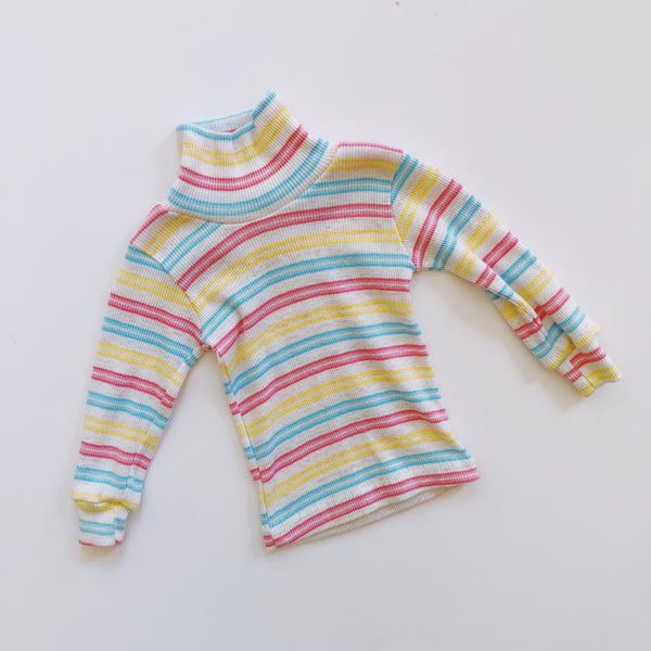 Vintage Health-Tex Striped Turtleneck / Size 12M