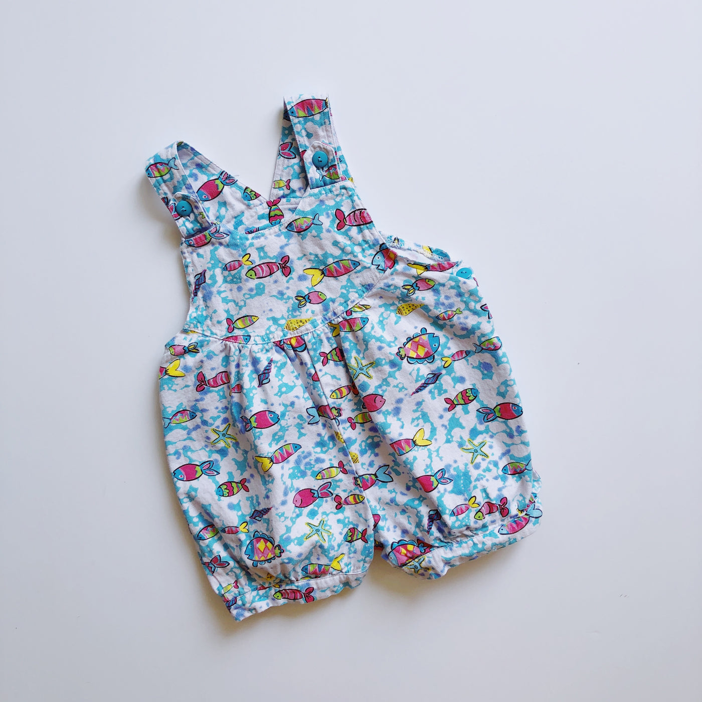 Little Lindsey Tropical Fish Romper / Size 4T