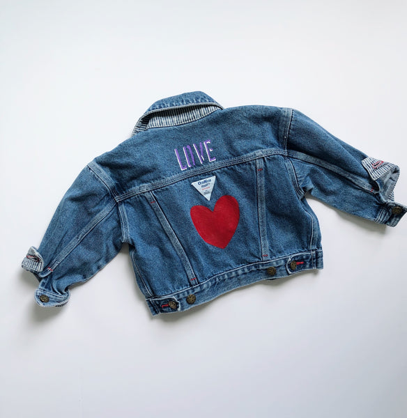 ALLEYOOP EXCLUSIVE: OshKosh LOVE Jean Jacket / Size 3T