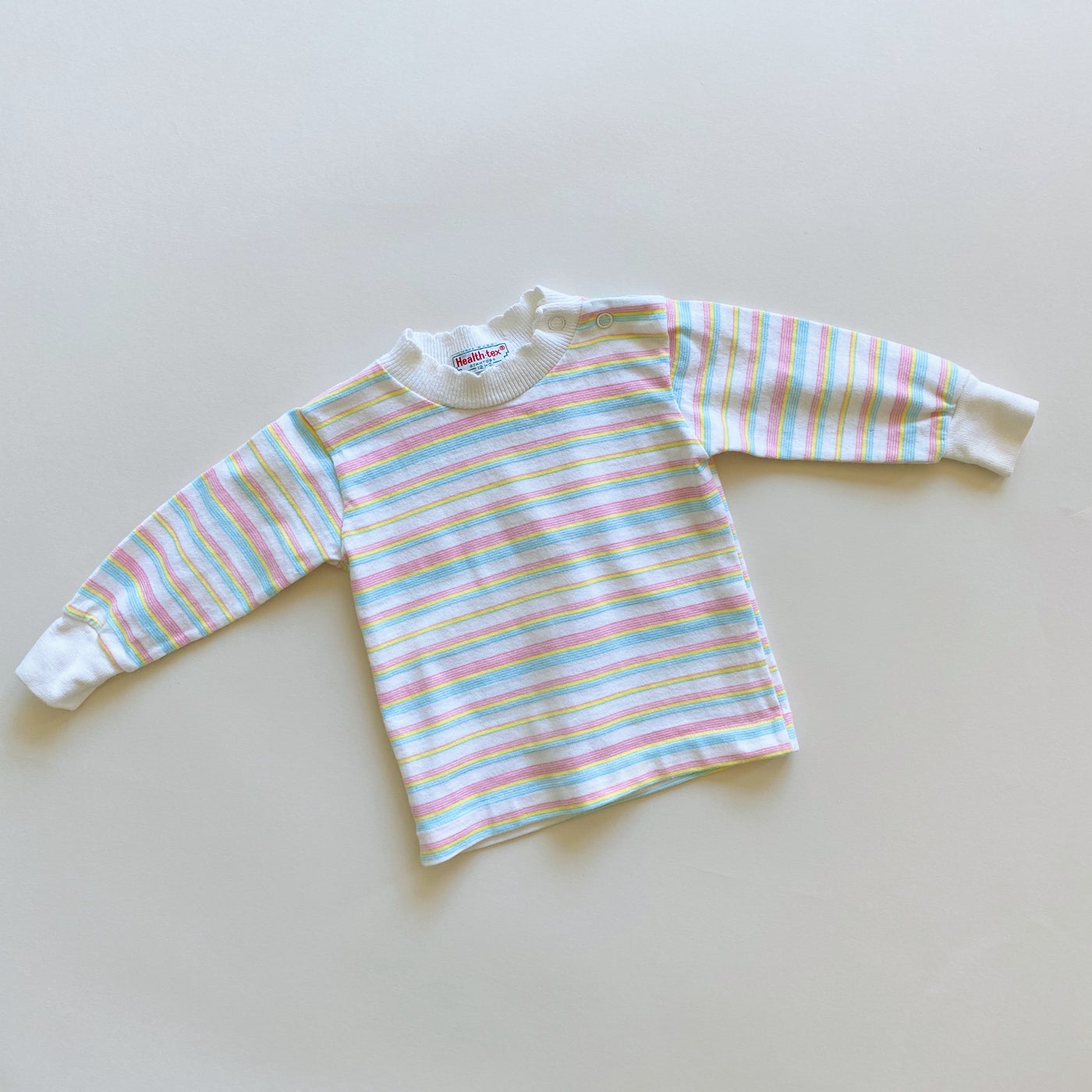 Vintage Health-Tex Striped Top / Size 12M