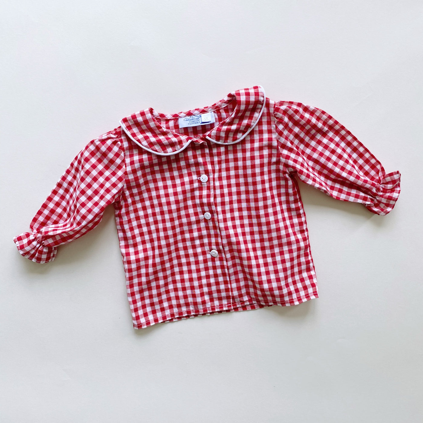 Vintage Picnic Perfect Top / Size 18M