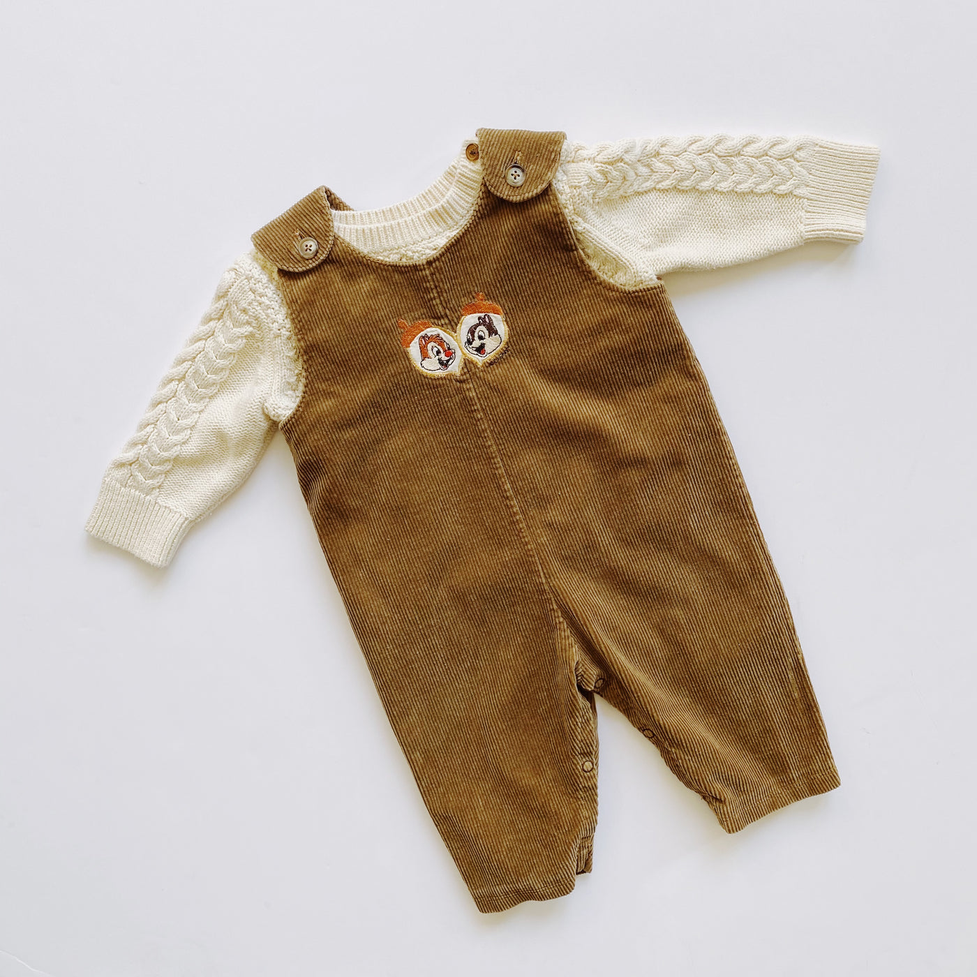 "The ""Retro Rescue Rangers"" Outfit / Size 6-12M"