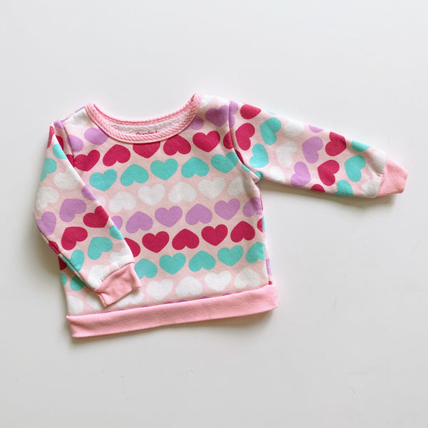 "The ""Finding Love During All of This"" Sweatshirt / Size 6-9M"