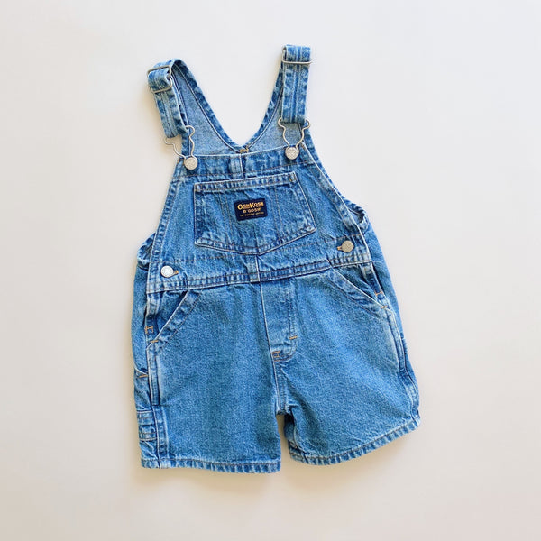 OshKosh Denim Shortalls / Size 12M