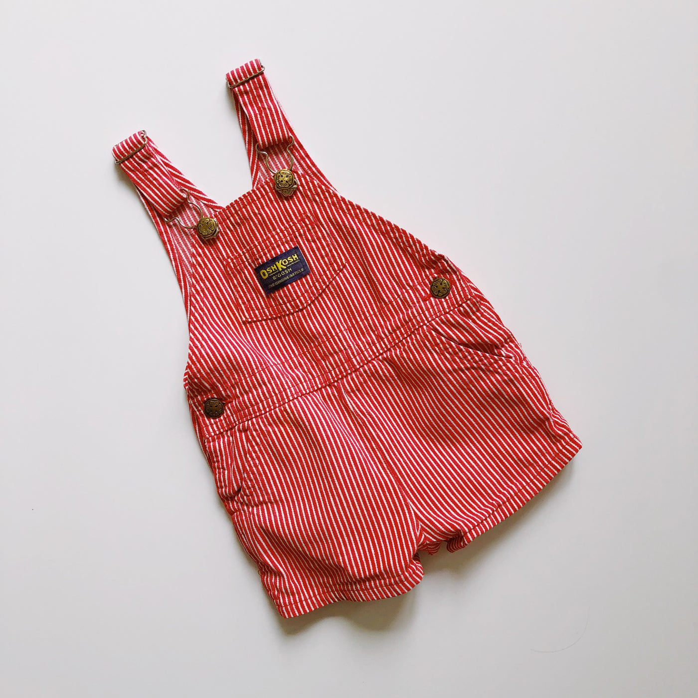 OshKosh Persimmon Engineer Stripe Shortall