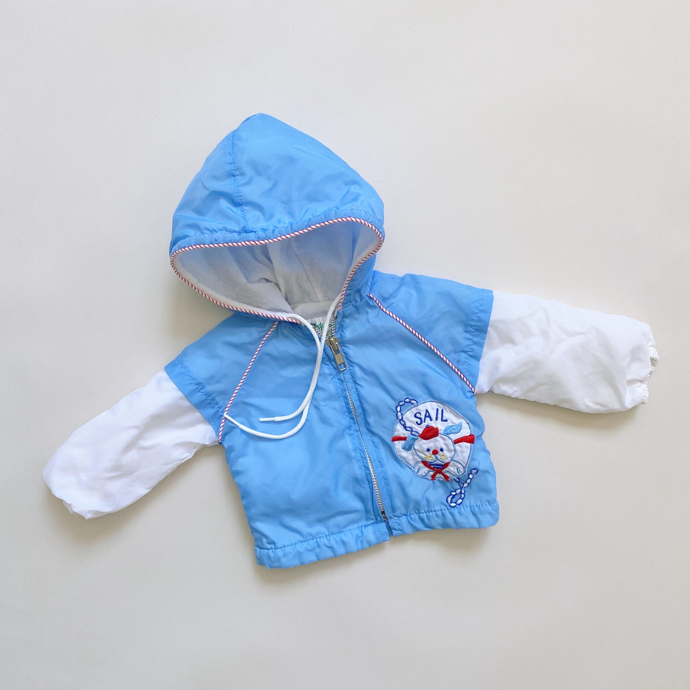 Vintage Puppy Sailing Jacket / Size 3-6M