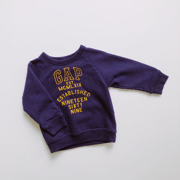 "The ""Mind the 6-foot Gap"" Sweatshirt / Size 18-24M"