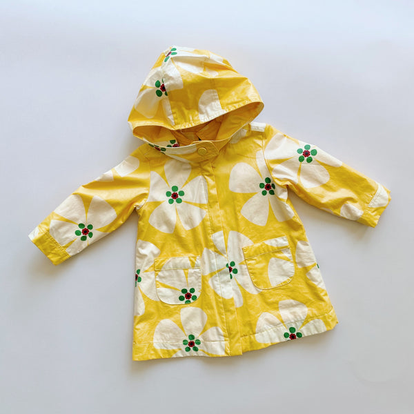 Baby Gap Yellow Floral Raincoat / Size 18-24M