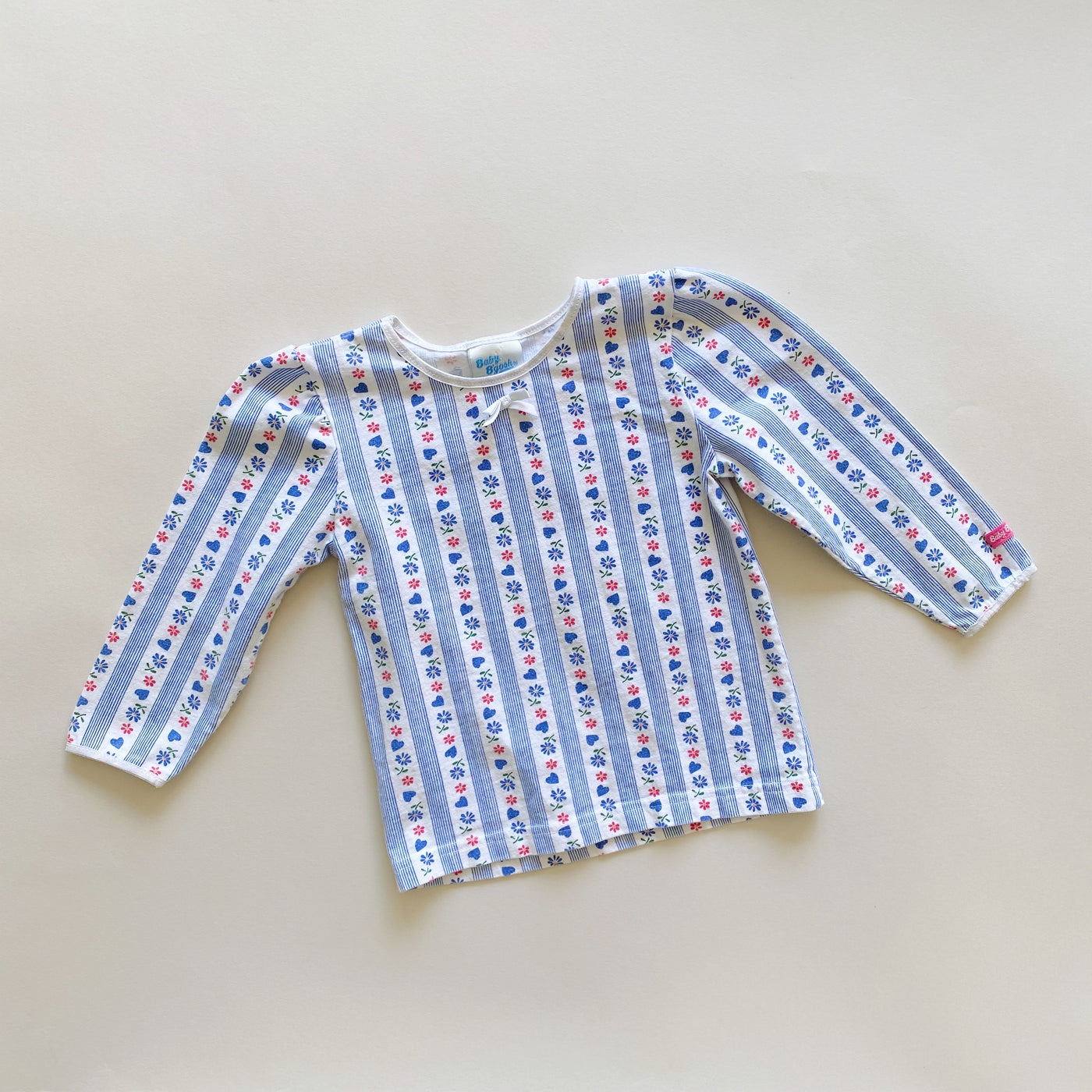 Vintage Baby B'gosh Patterned Top / Size 24M