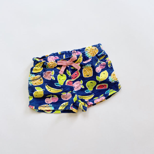 Happy Fruit Shorts / Size 3M