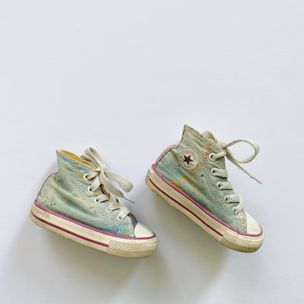 Splatter Paint Chuck Taylor All Star Sneakers / Toddler 4
