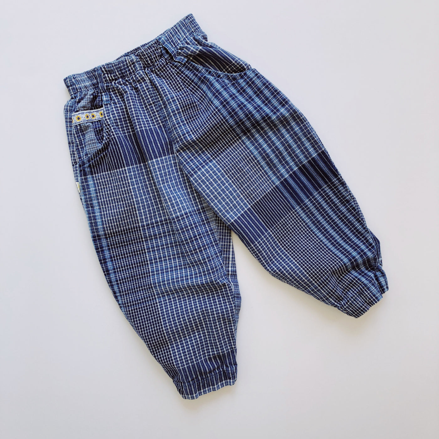 Little Levis Indigo Bubble Pants