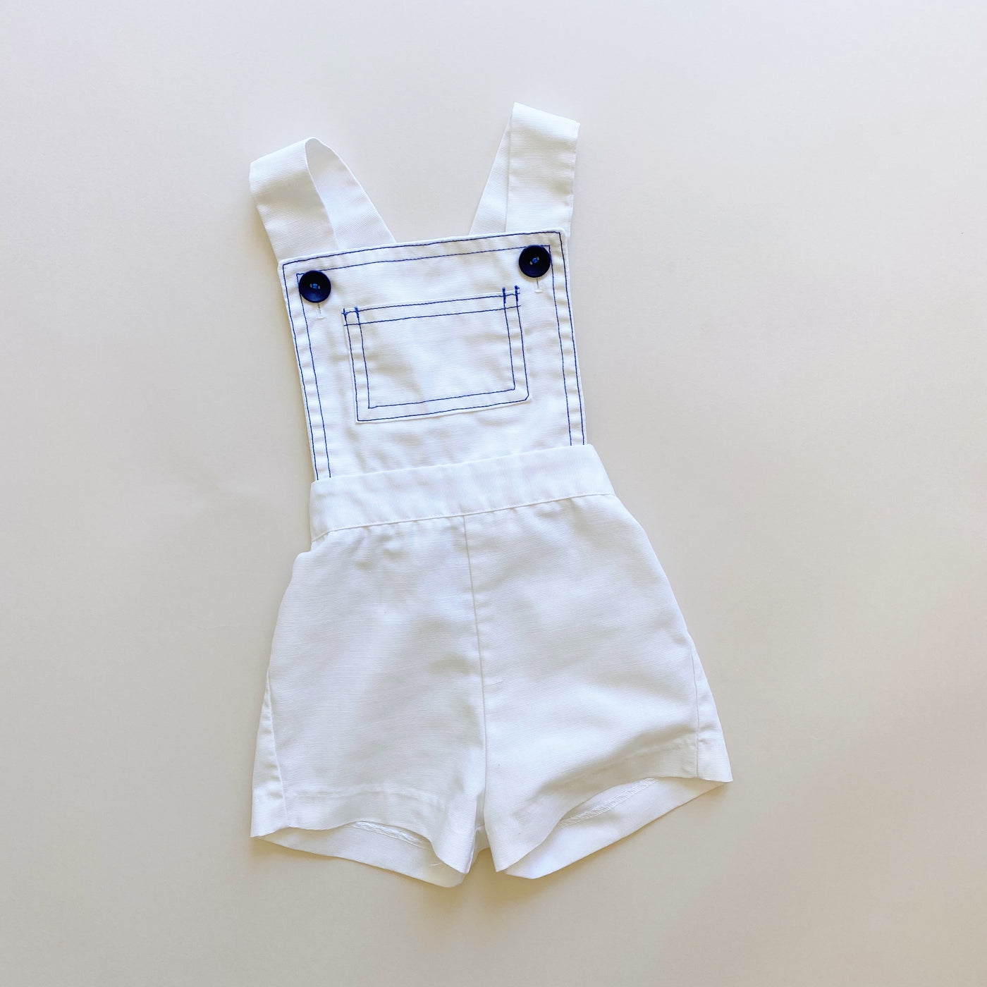 Vintage Magic Years White Romper / Size 3T
