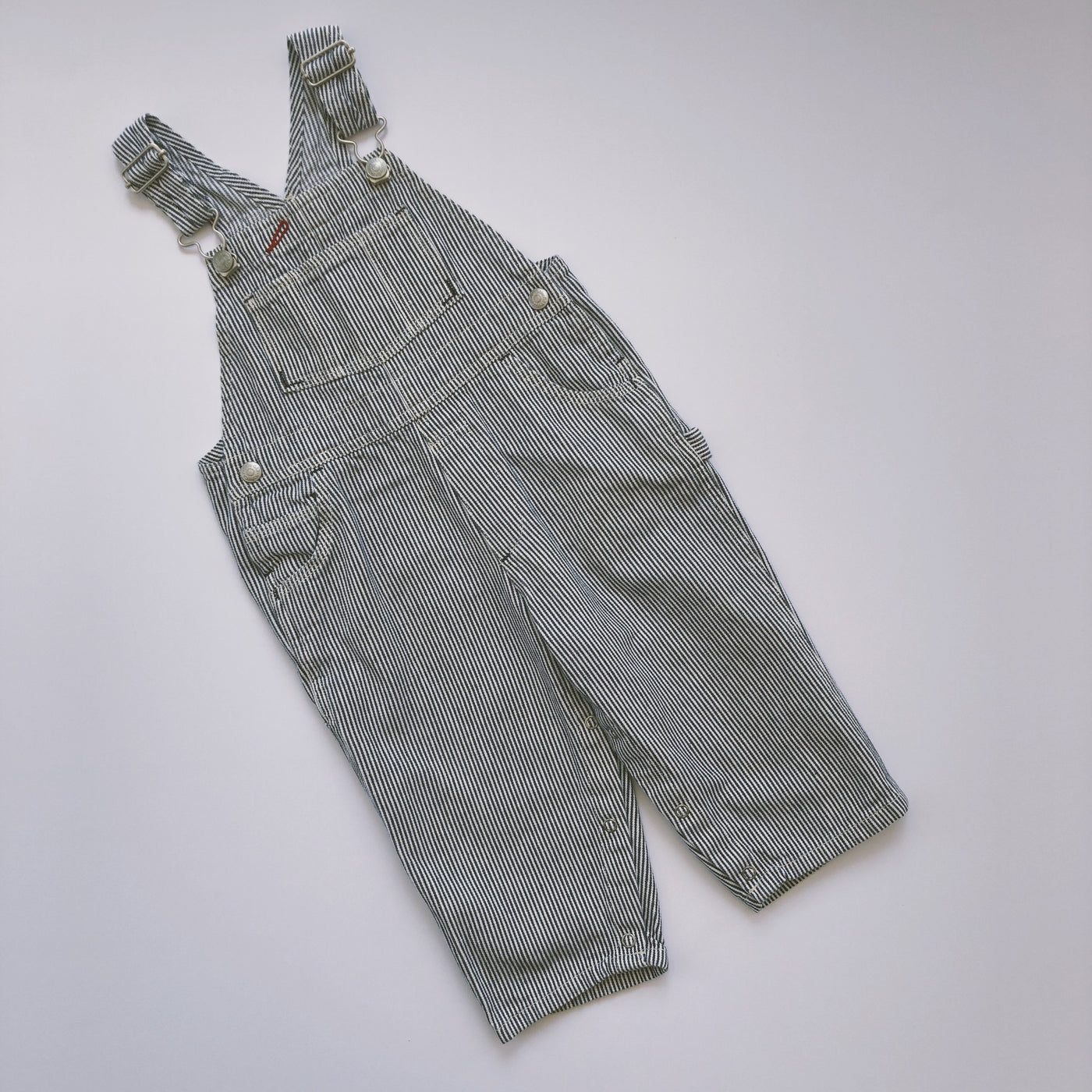 Classic Baby Gap Engineer Stripe Overalls