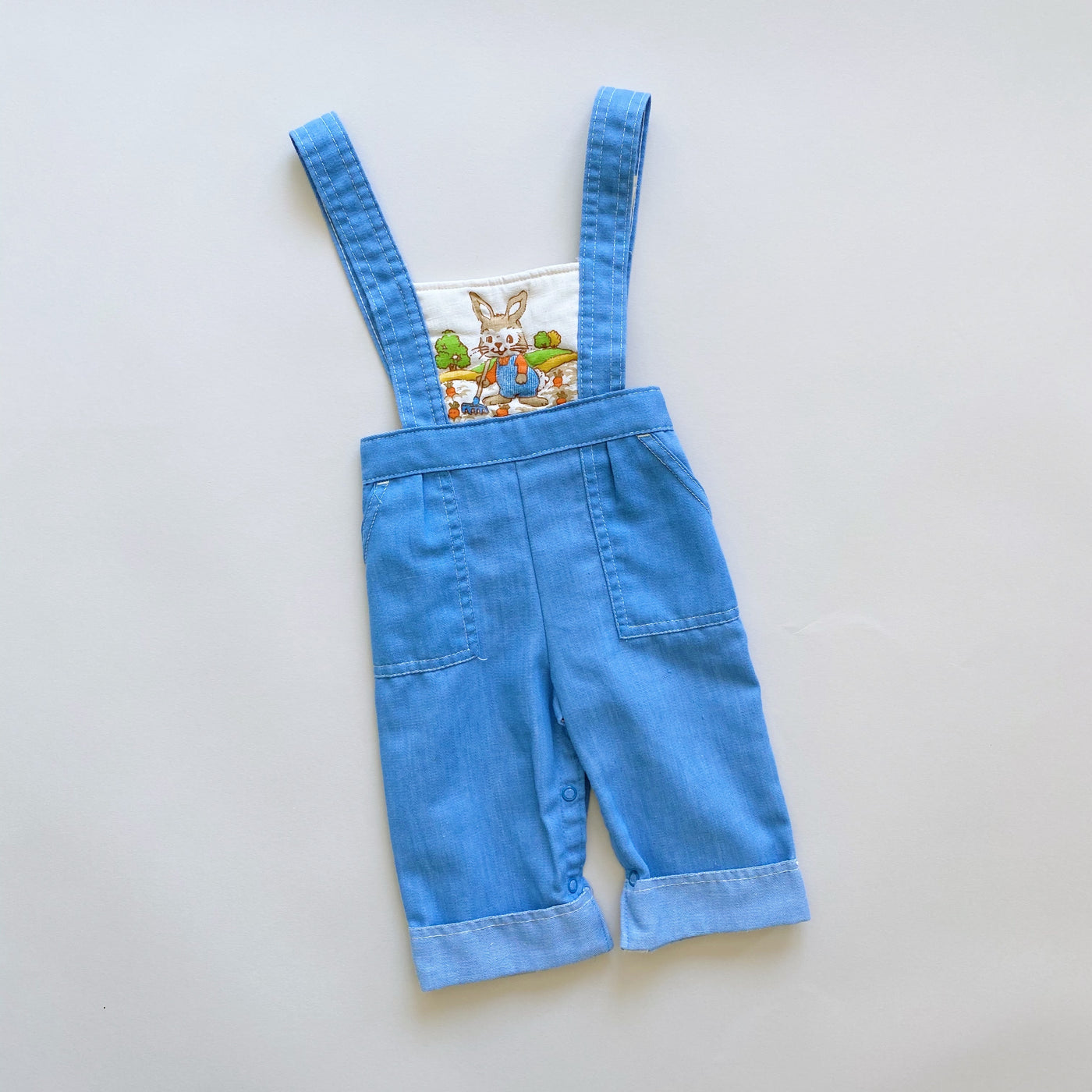 Vintage Carter's Peter Rabbit Overalls / Size 12M