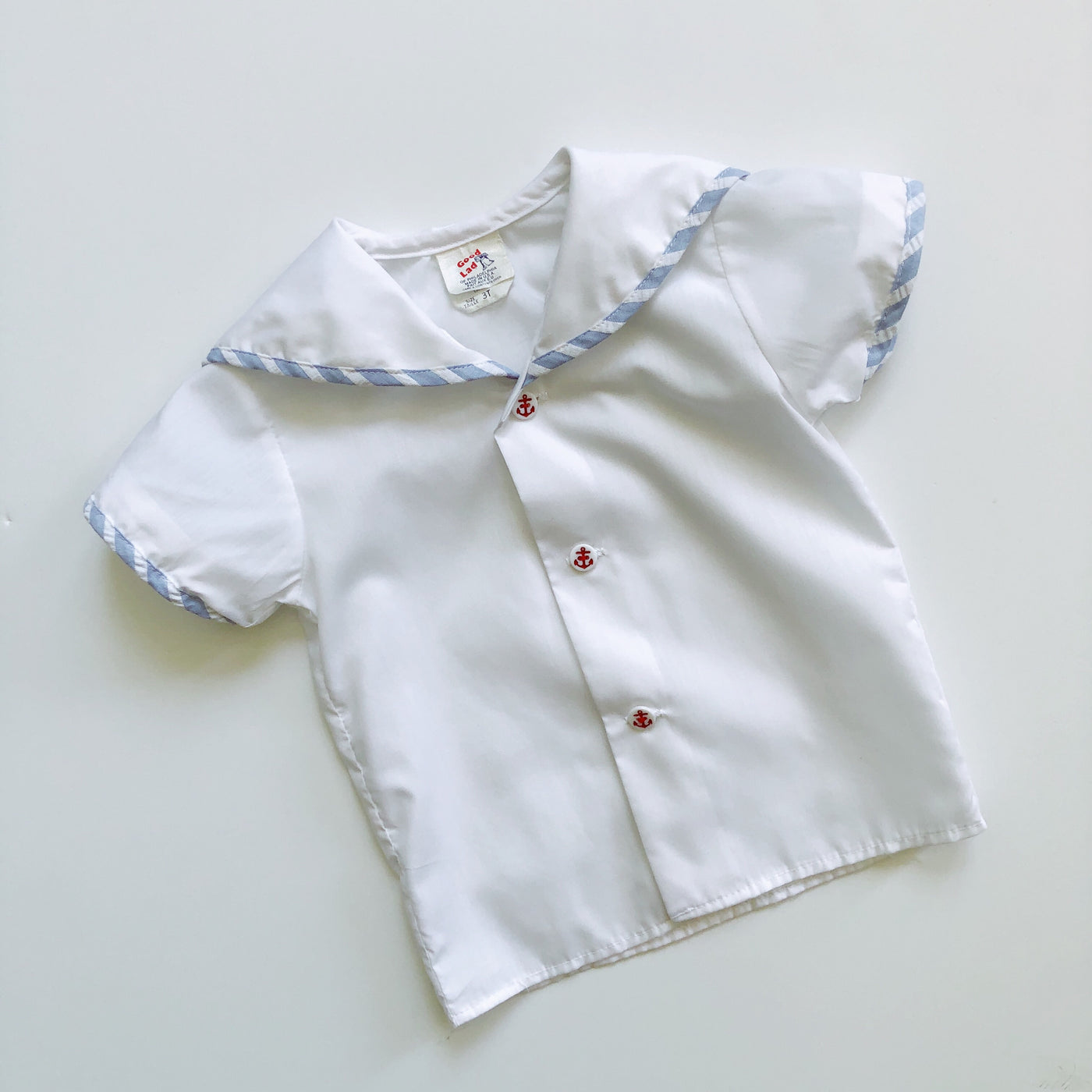 Vintage Good Lad Sailor Shirt / Size 3T
