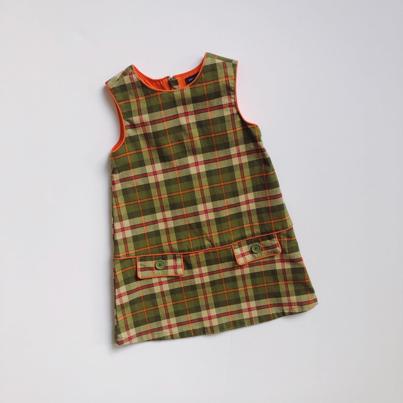 Baby Gap Plaid Schoolgirl Dress / Size 2T