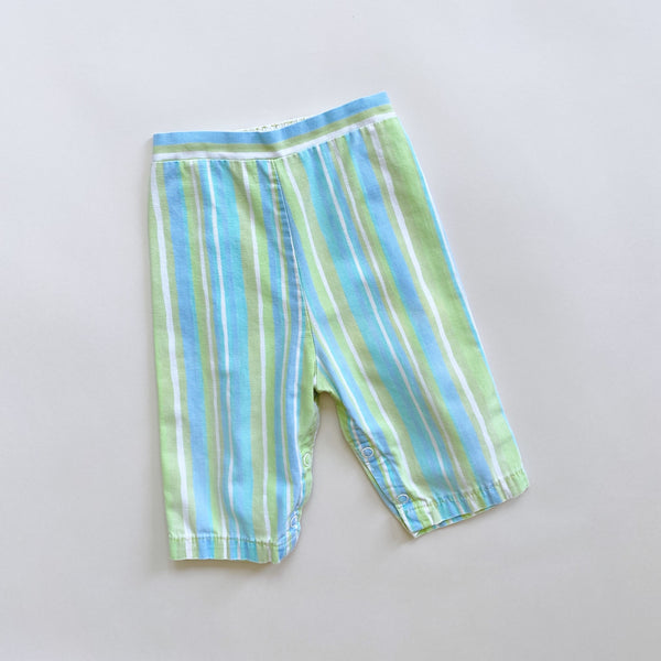 Vintage Mod Striped Pants / Size 9M