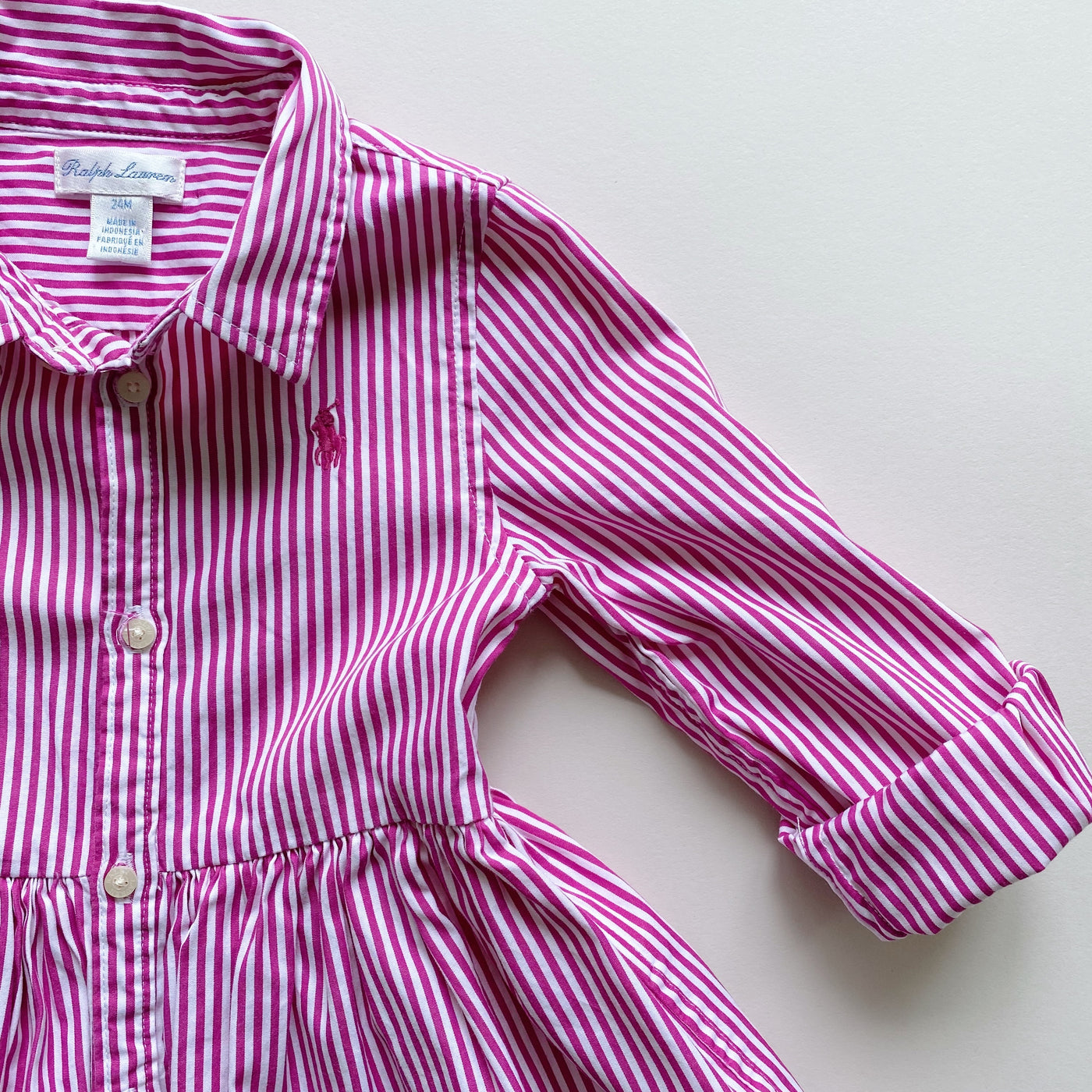 Ralph Lauren Shirt Dress / Size 24M