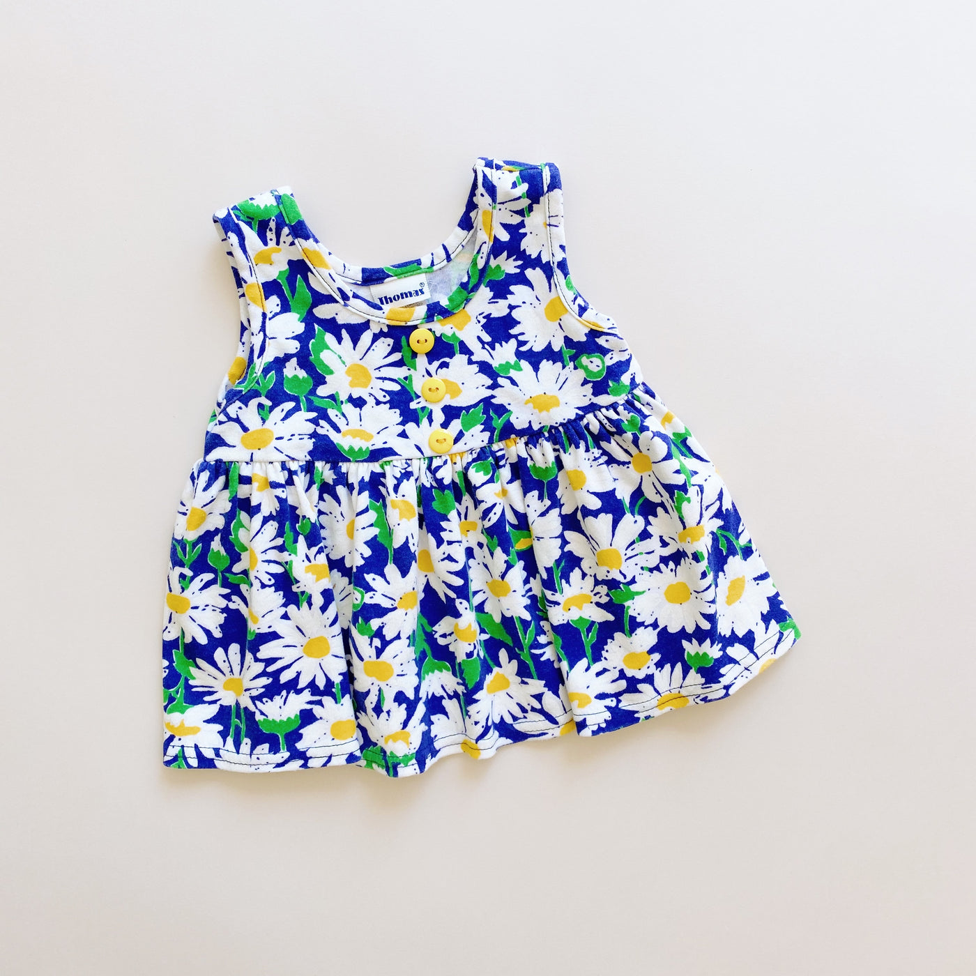 Vintage Daisy Dress / Size 12M