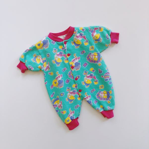 "The ""Pajamas Or Outfit or Most Likely Both"" Romper / Size 3-6M"