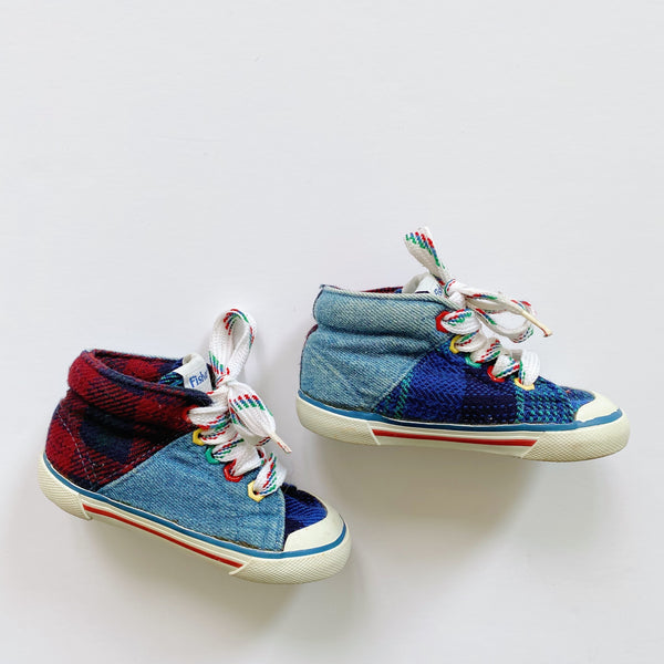 Fisher Price Colorful Denim High-Tops / Toddler 5.5