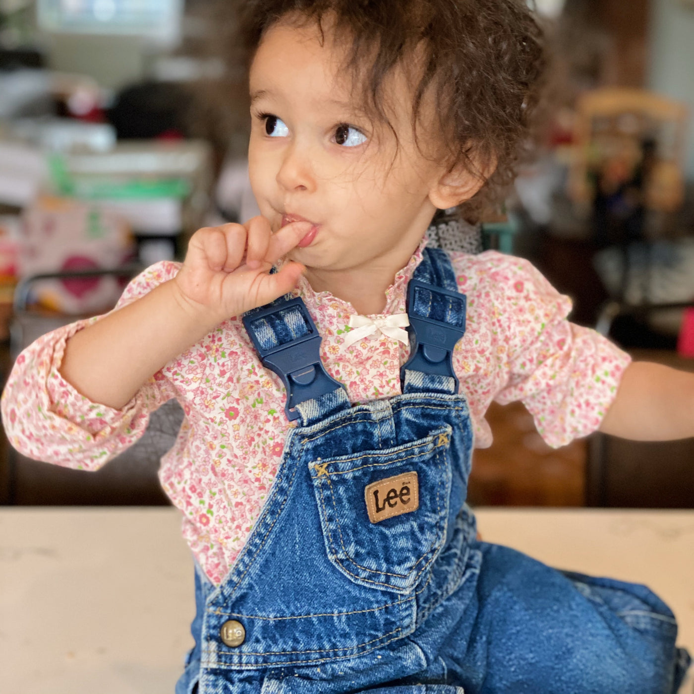 Vintage The World's Most Perfect Denim Lee Overalls / Size 18M