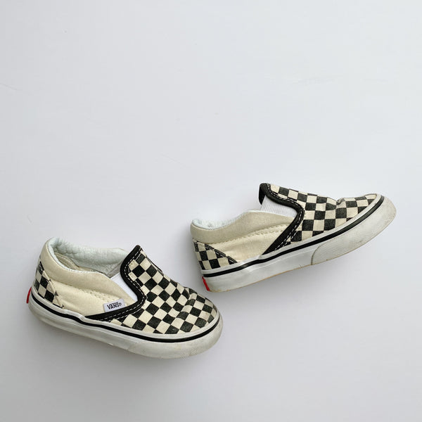Vans Checkerboard Slip-On / Toddler 6