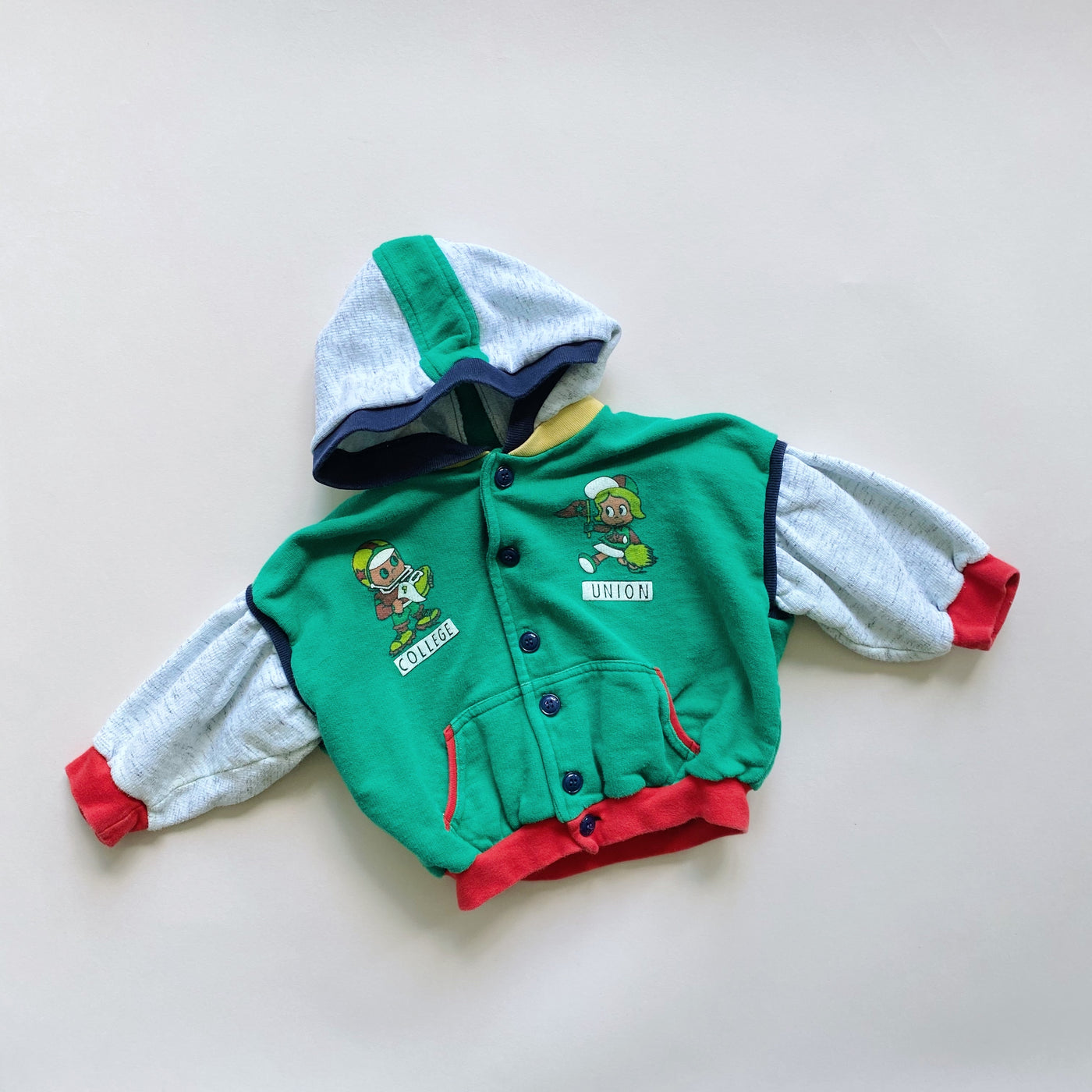"The ""Feels Like They'll Be in College by the Time This is Over"" Sweatshirt / Size 18M"