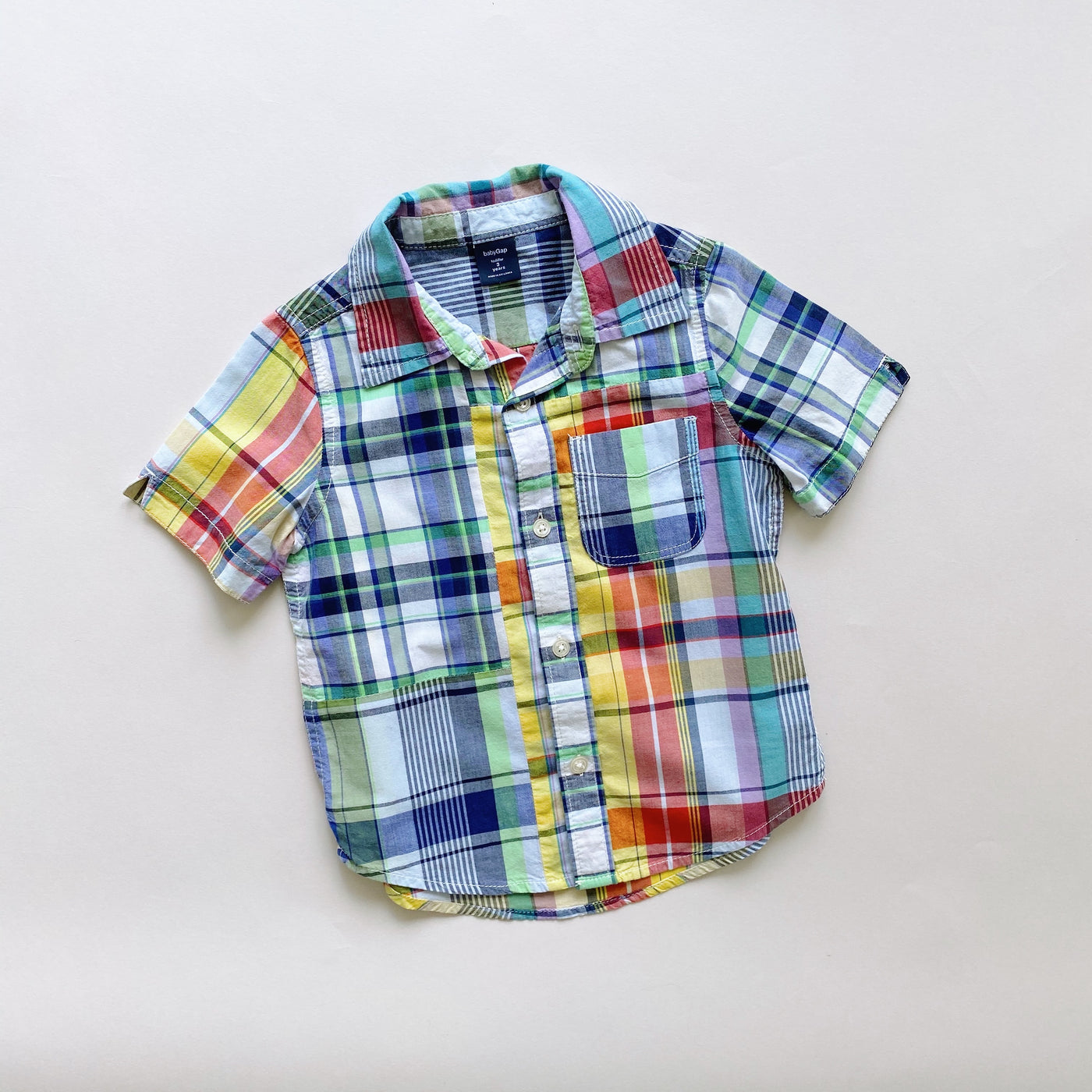Baby Gap Short Sleeve Button Down / Size 3T