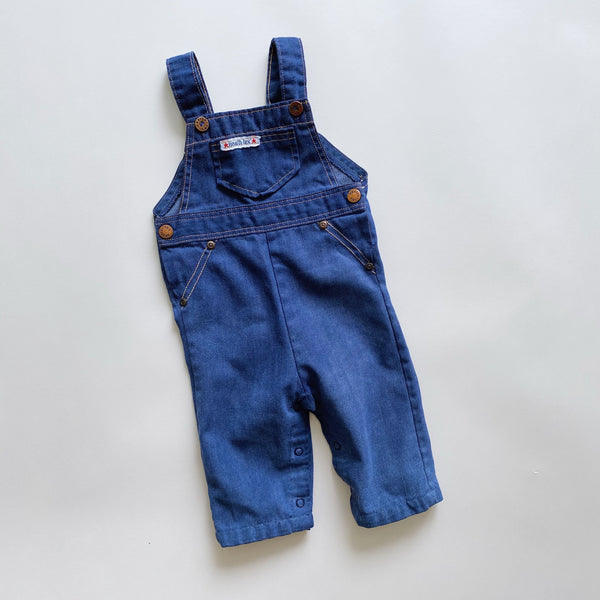 Vintage Health-tex Lightweight Denim Overalls / Size 6M