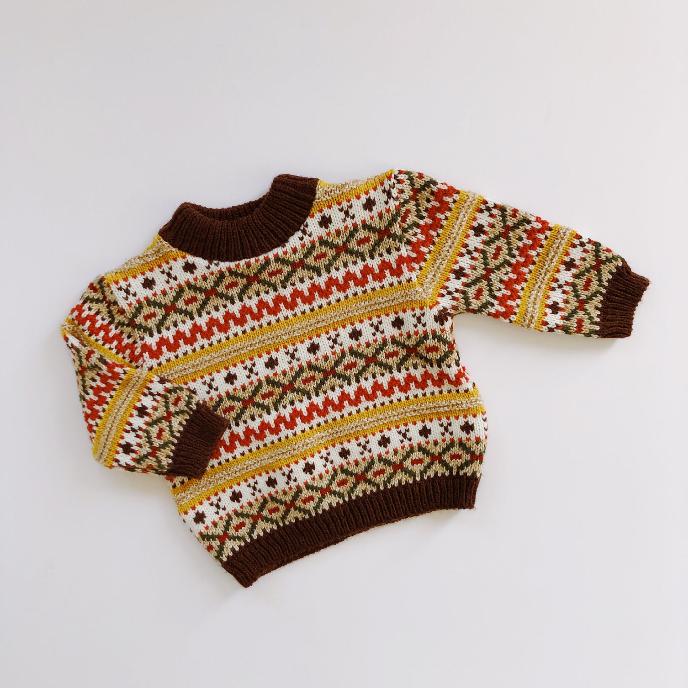 Vintage Baby Togs Nordic Sweater / Size 12M
