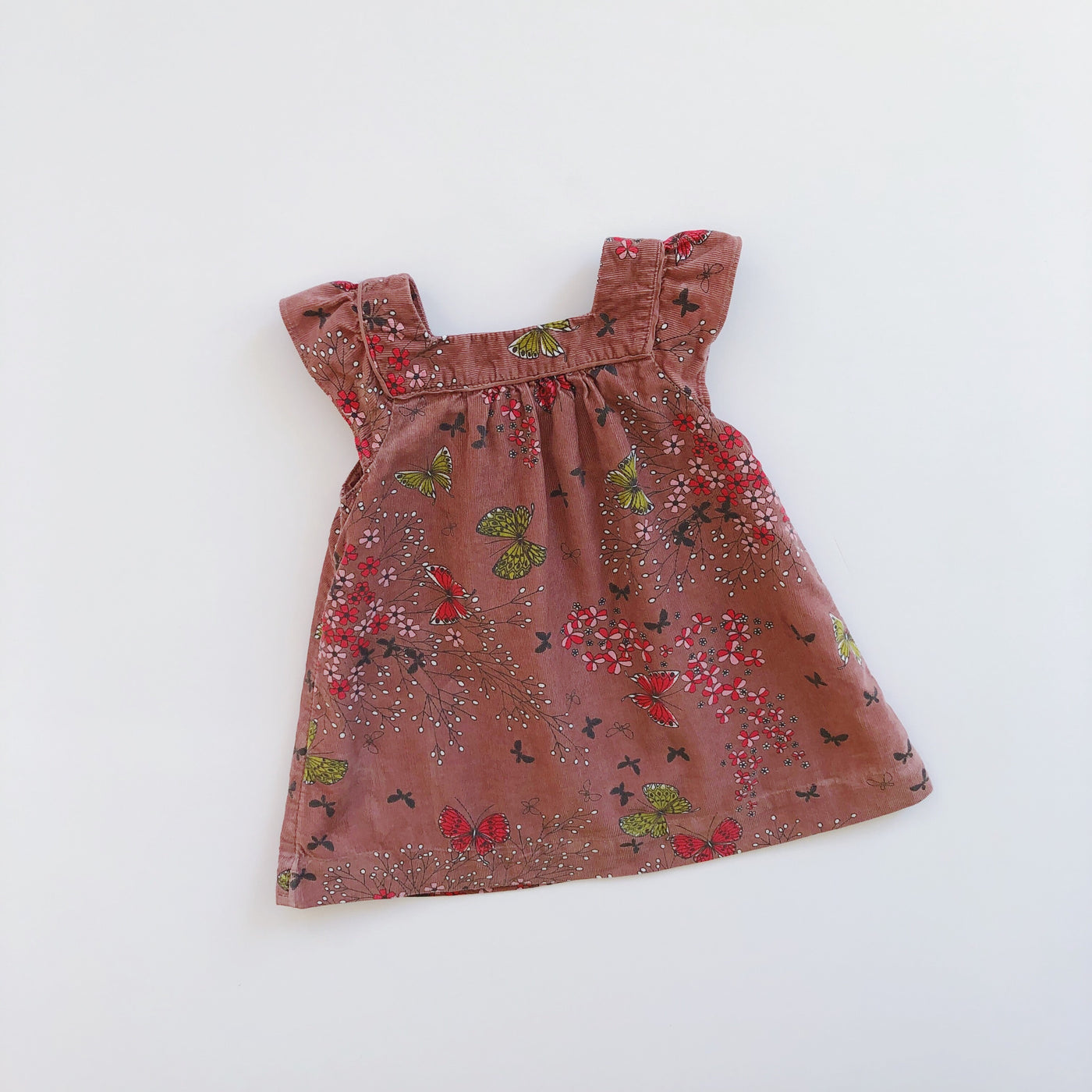 Baby Gap Corduroy Butterfly Dress / Size 12-18M