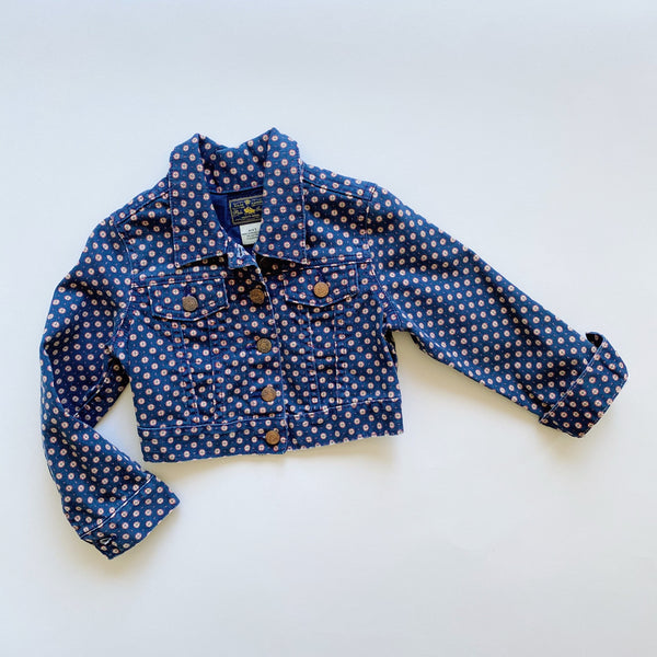 Ralph Lauren Patterned Jean Jacket / Size 4T