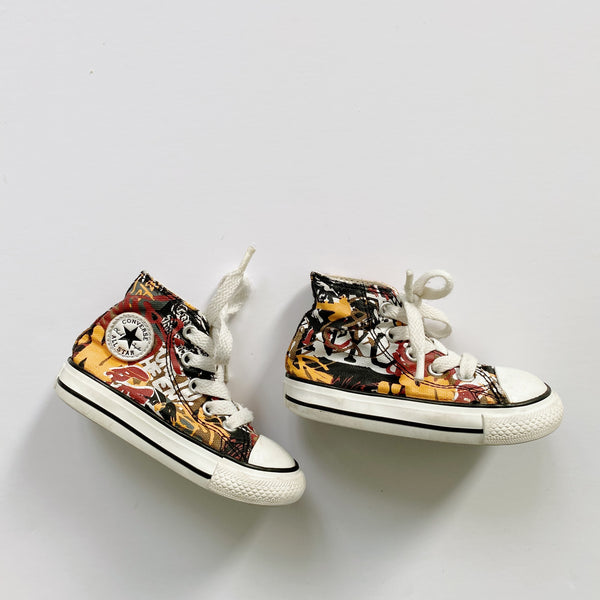 Graffiti New York Chuck Taylor All Star Sneakers / Toddler 5