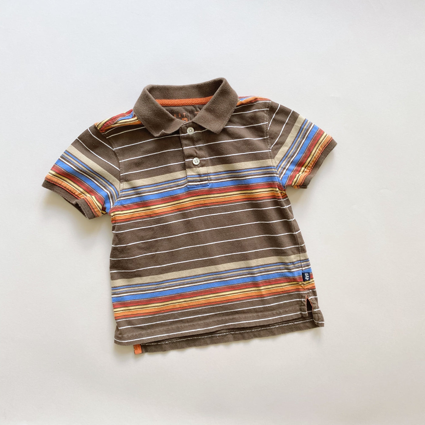 Baby Gap Striped Short-Sleeved Polo / Size 3T