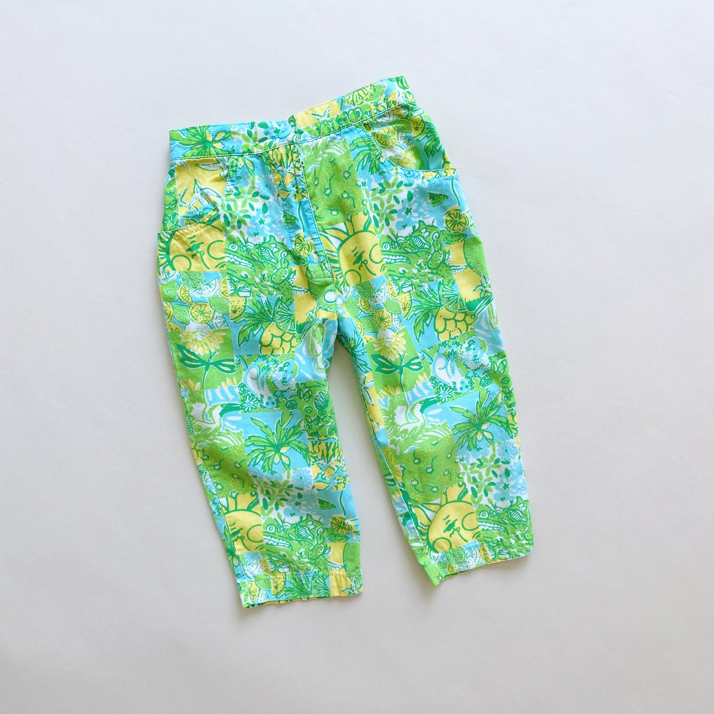 Lilly Pulitzer Floral Bottoms / Size 5T
