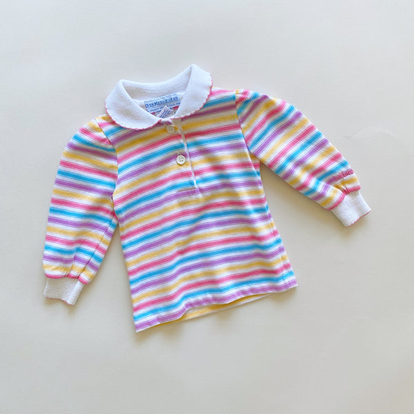 Vintage OshKosh B'Gosh Collared Top / Size 6-9M