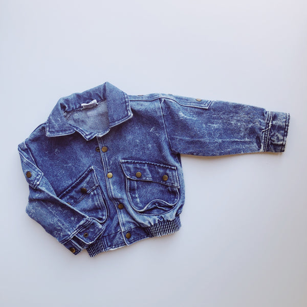 Mac Henry Acid Wash Jean Jacket / Size 3T