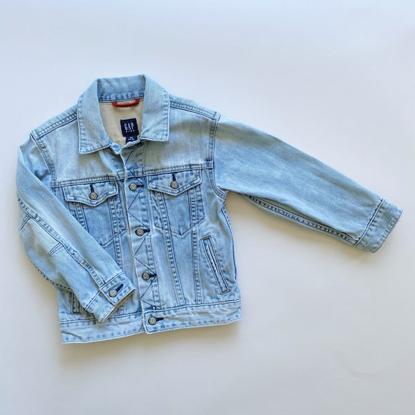 Gap Kids Stonewashed Jean Jacket / Size 4-5T