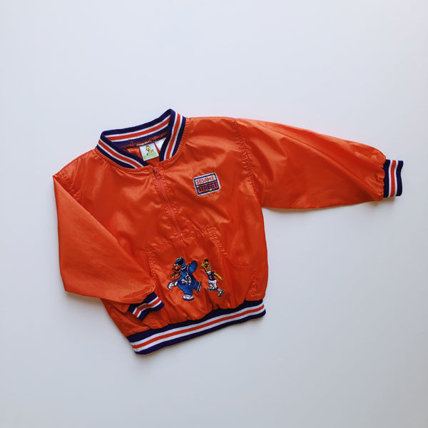 Sesame Street Orange Windbreaker / Size 18M